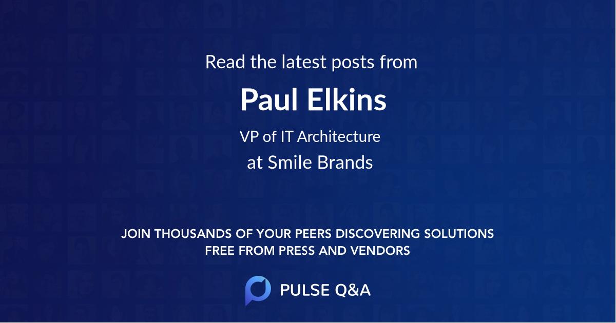 Paul Elkins