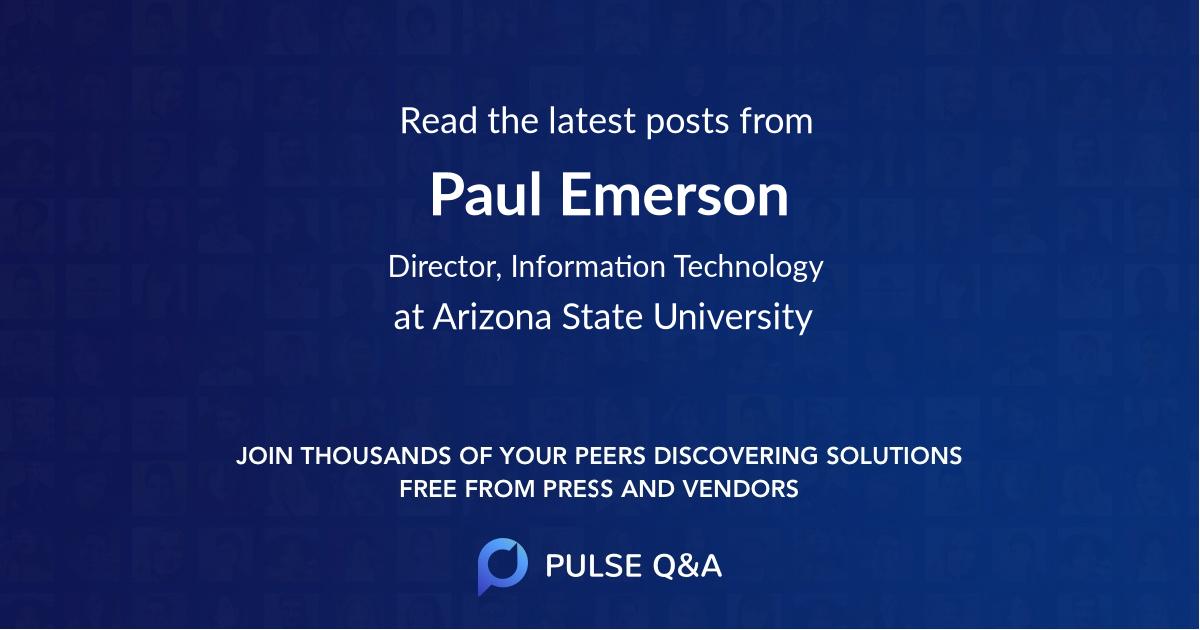Paul Emerson