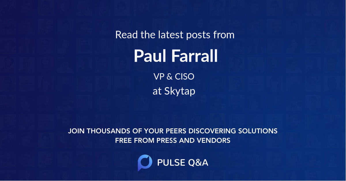 Paul Farrall