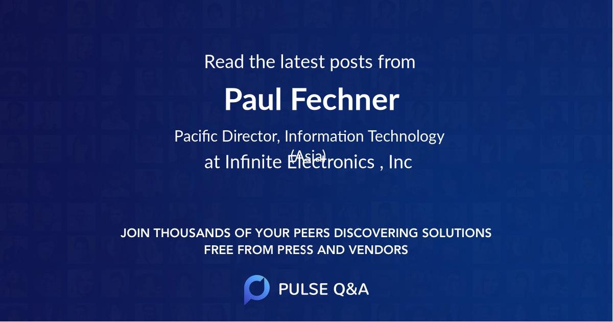 Paul Fechner