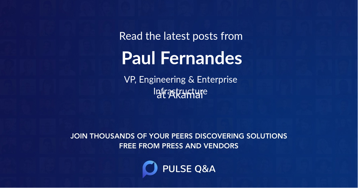 Paul Fernandes