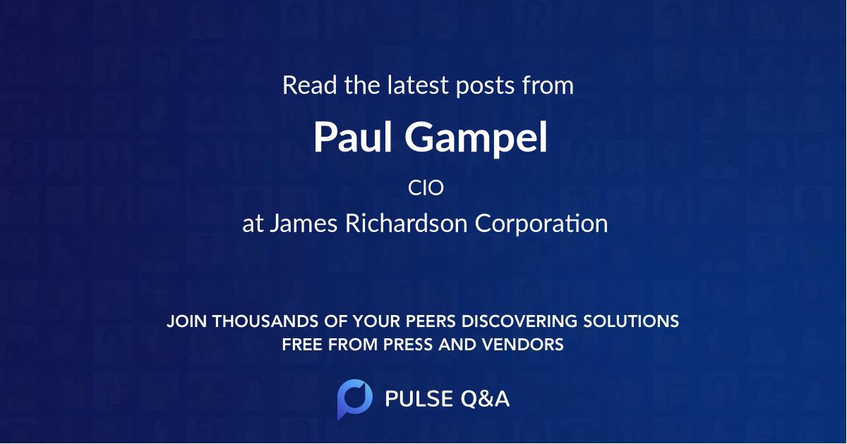 Paul Gampel