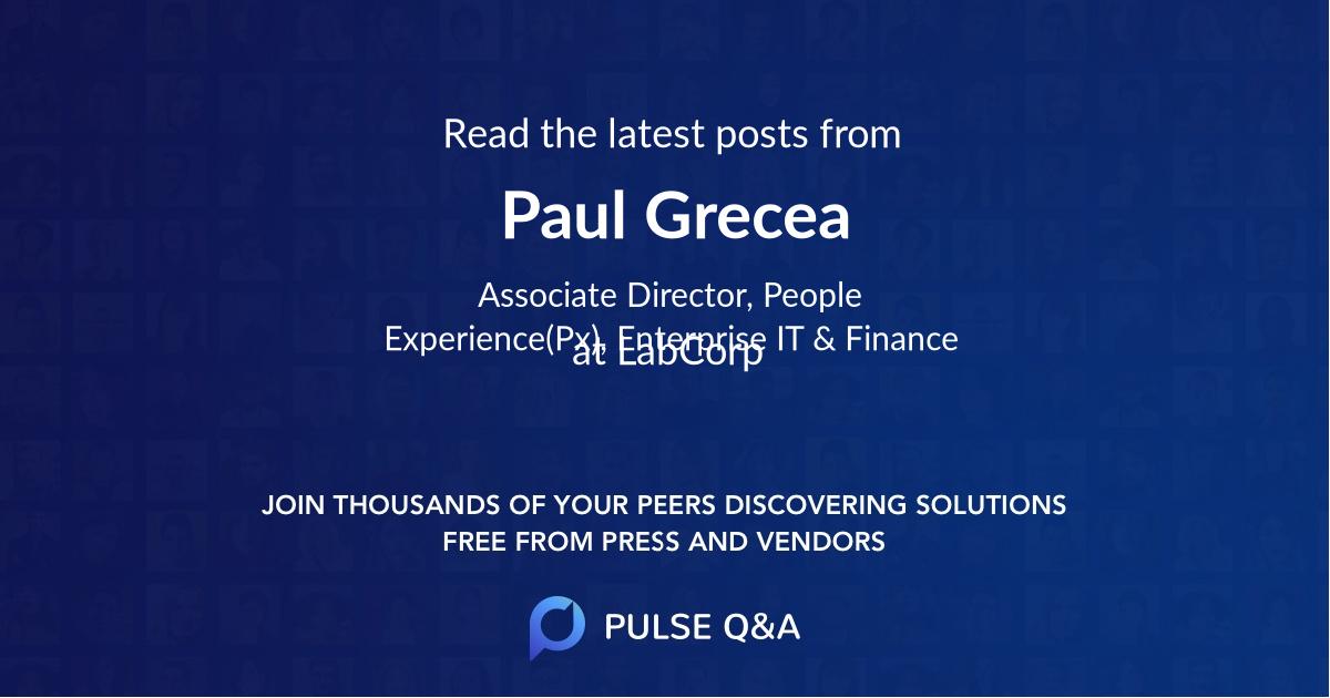 Paul Grecea