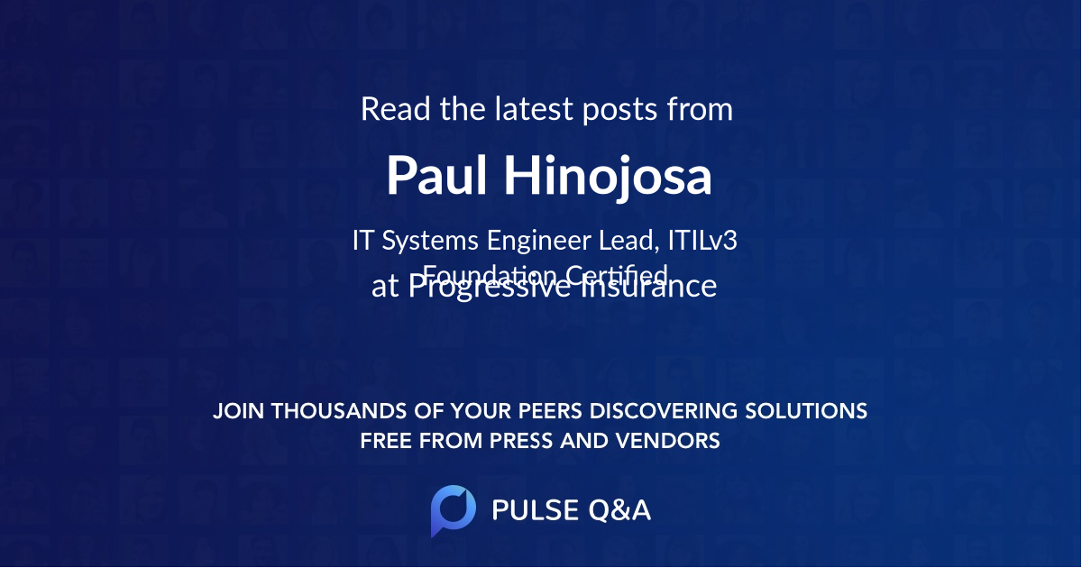 Paul Hinojosa