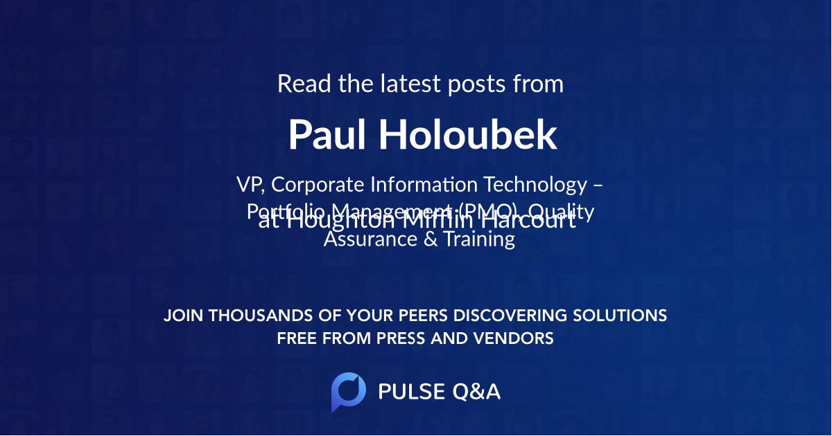 Paul Holoubek