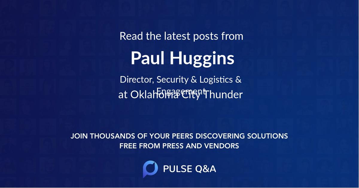 Paul Huggins