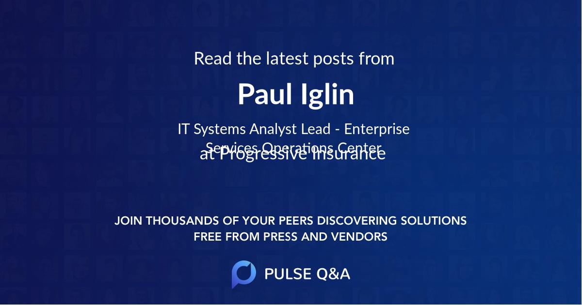 Paul Iglin
