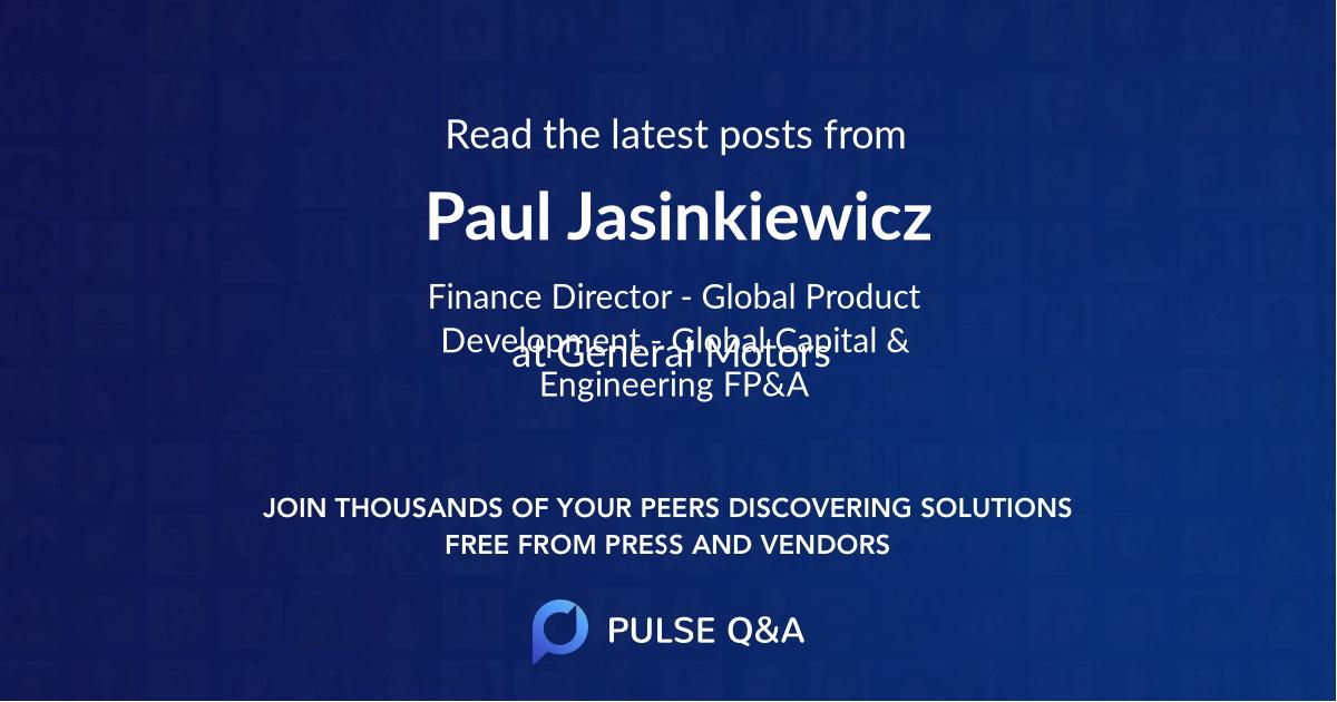 Paul Jasinkiewicz