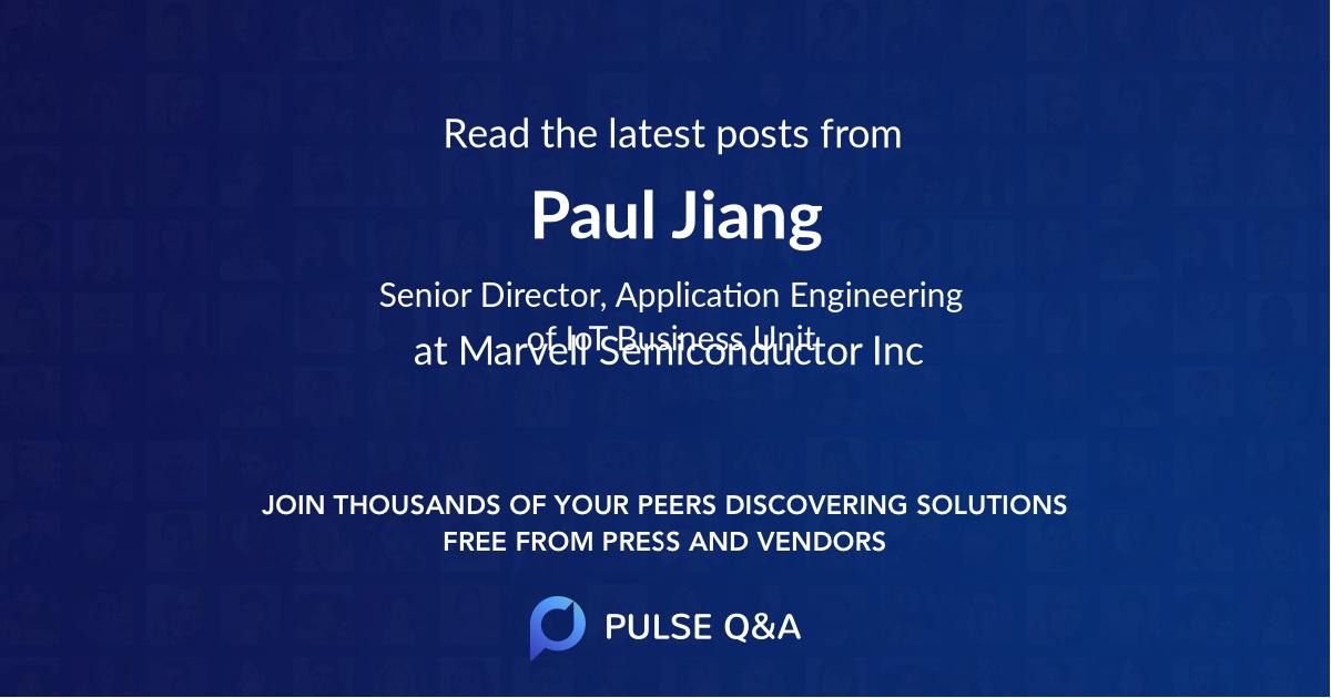 Paul Jiang