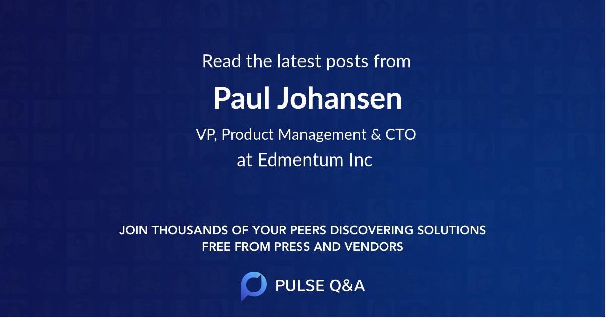 Paul Johansen