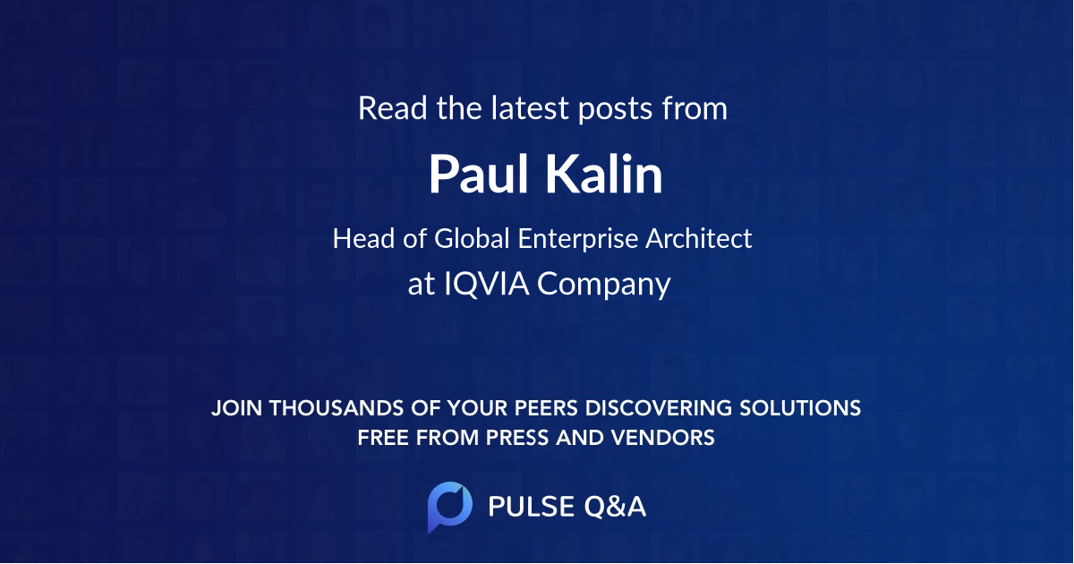 Paul Kalin