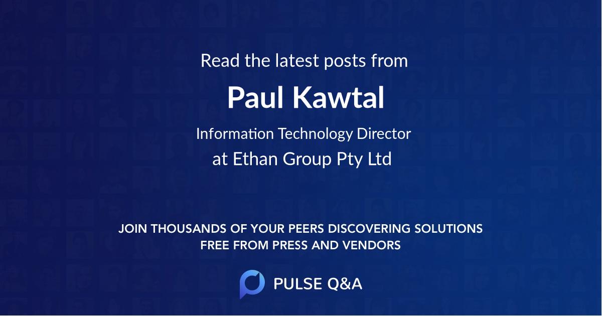 Paul Kawtal