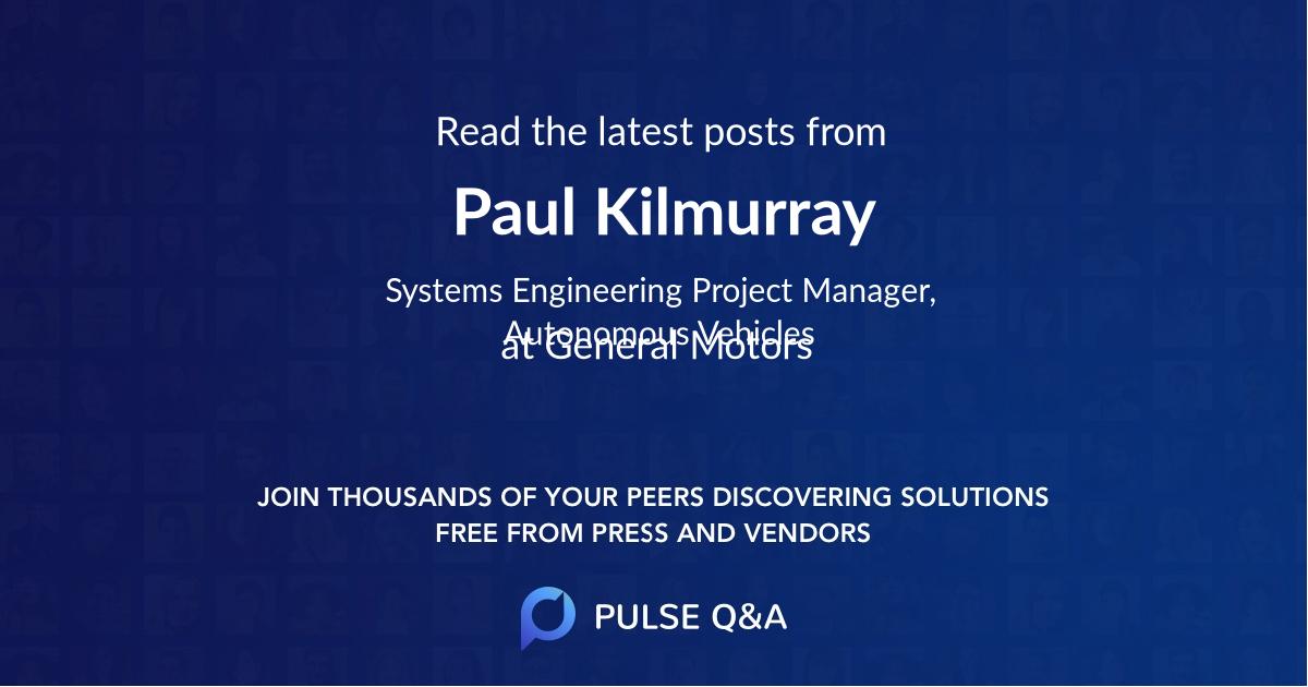 Paul Kilmurray