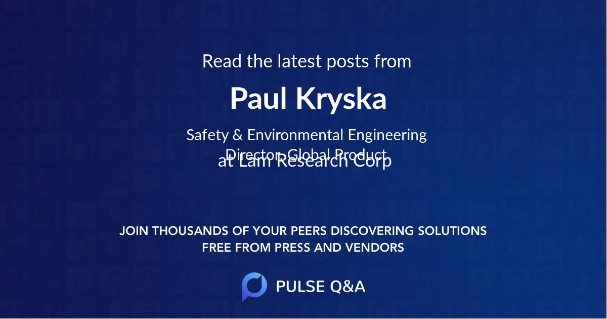 Paul Kryska