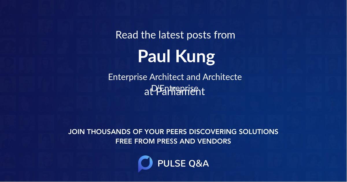 Paul Kung