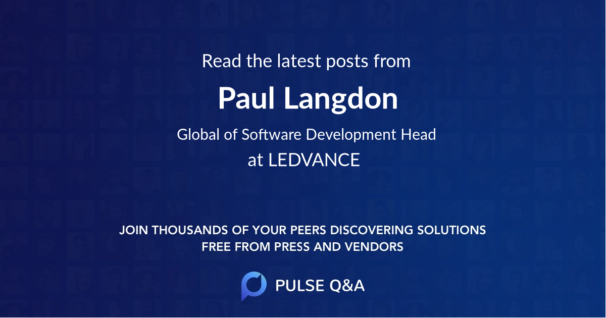 Paul Langdon