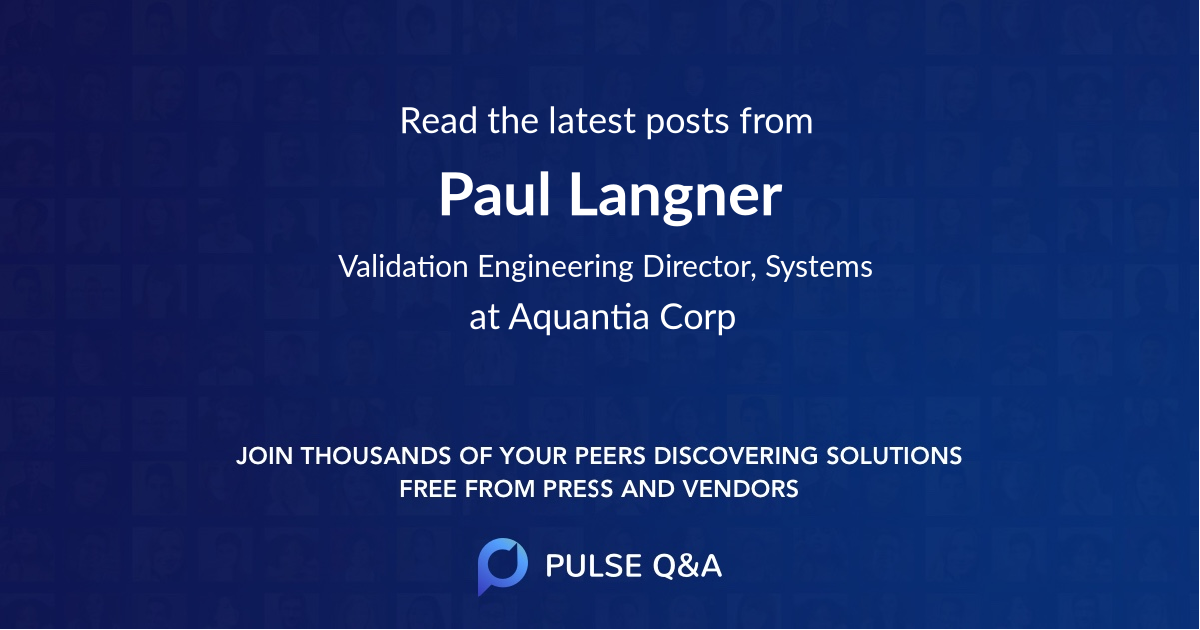 Paul Langner