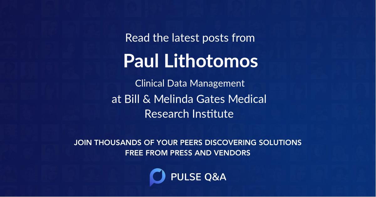 Paul Lithotomos