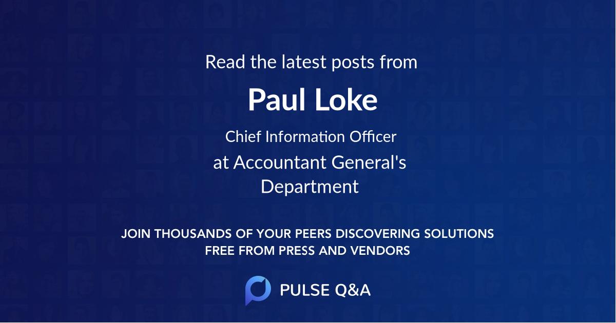 Paul Loke