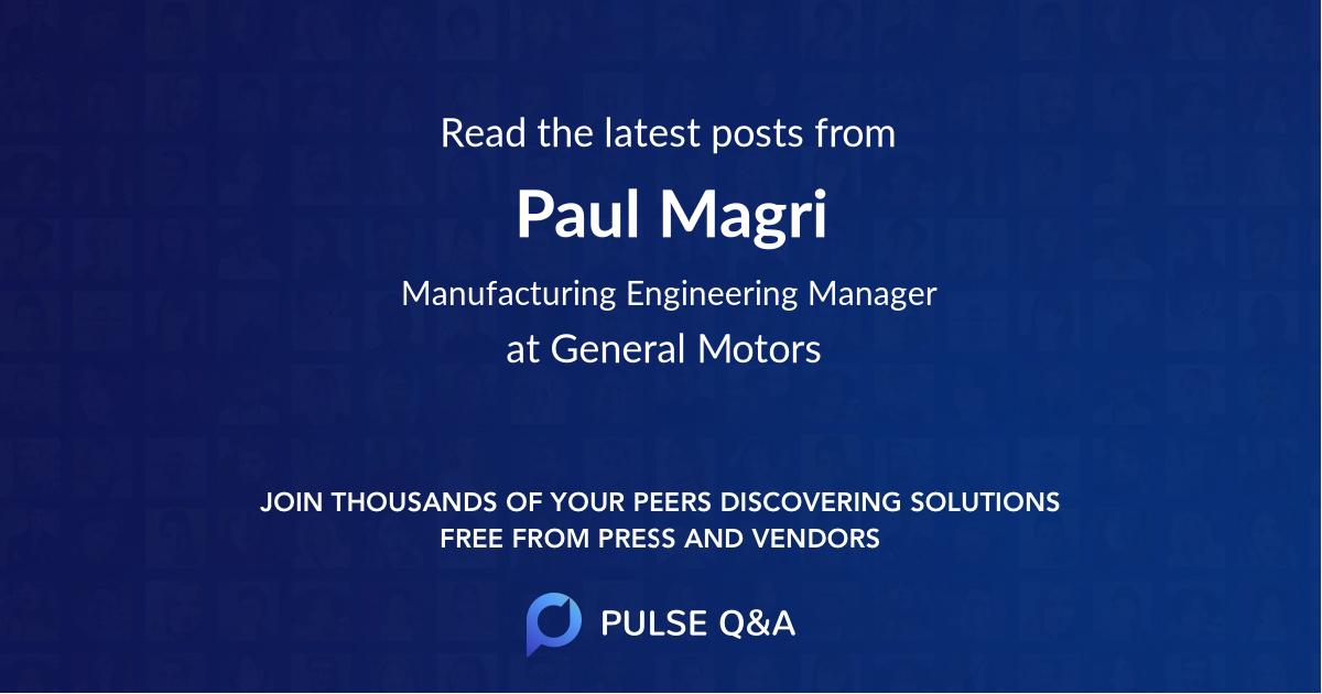 Paul Magri