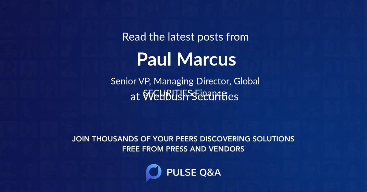 Paul Marcus