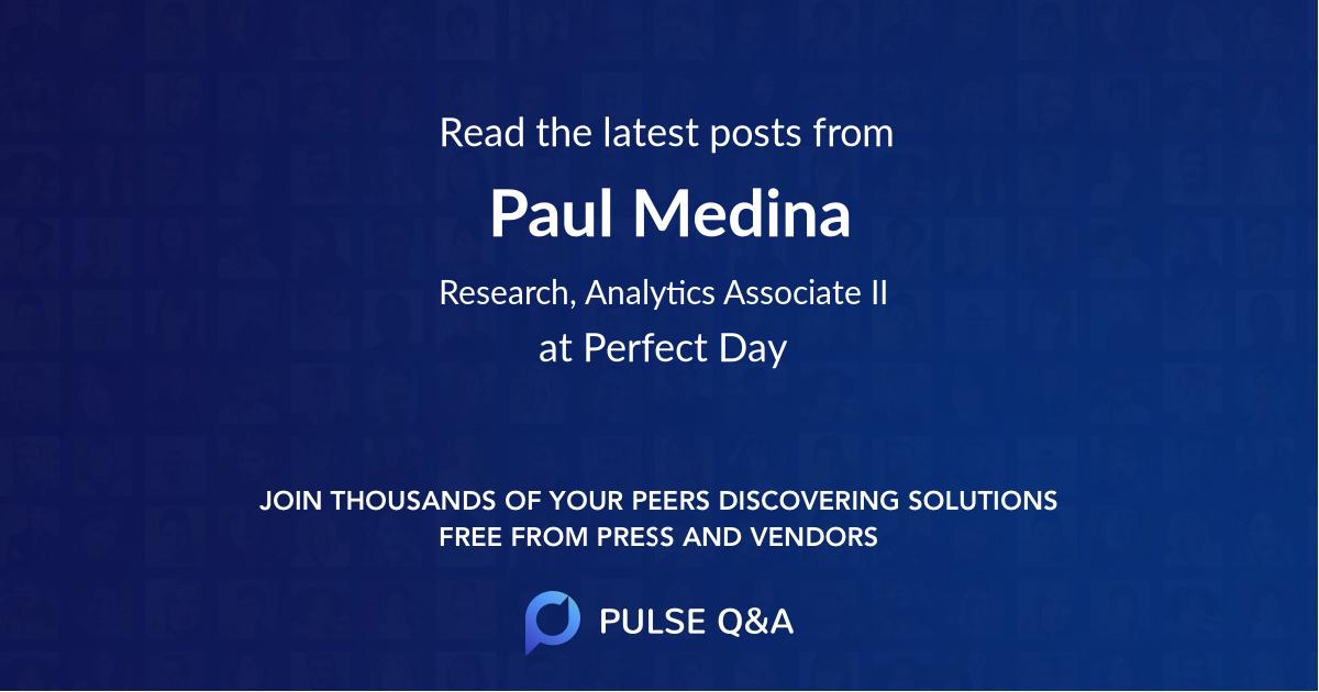 Paul Medina