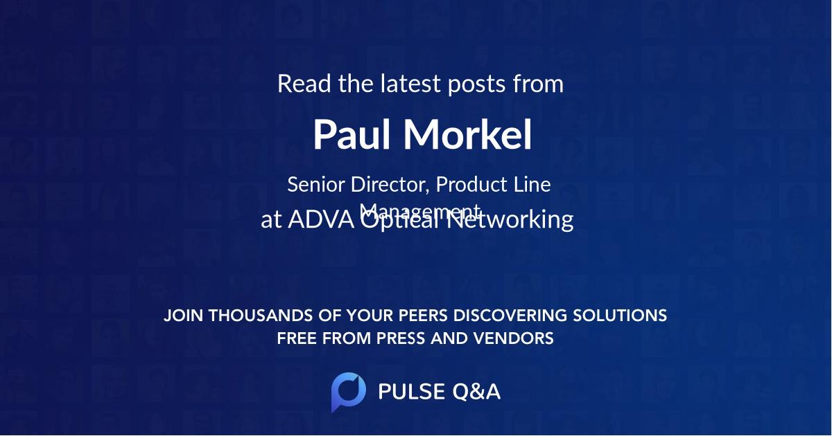 Paul Morkel
