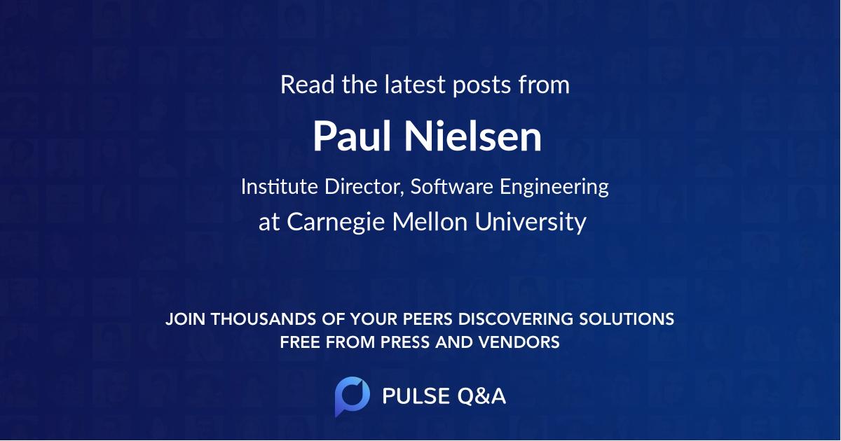 Paul Nielsen