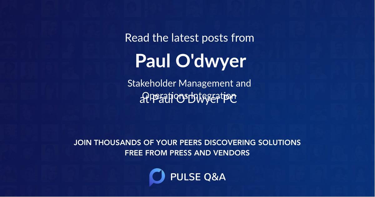 Paul O'dwyer