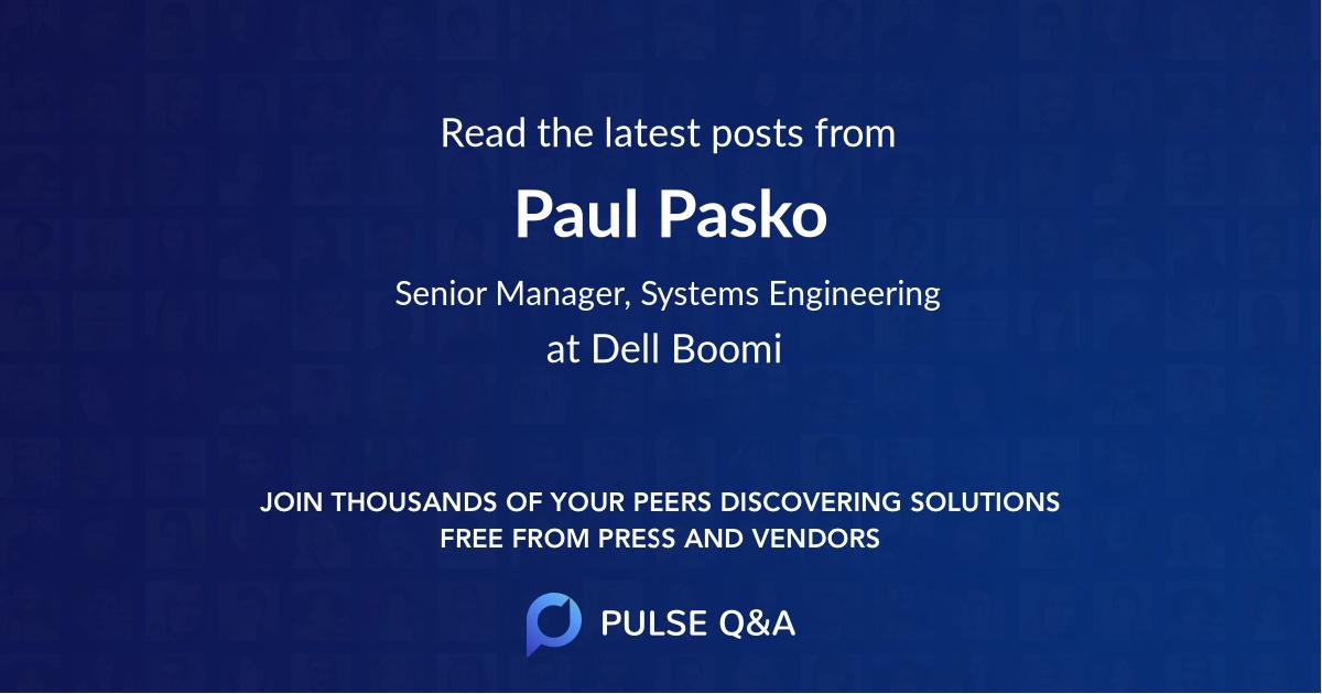 Paul Pasko