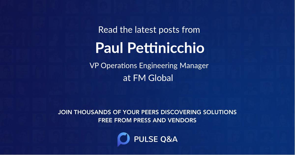 Paul Pettinicchio