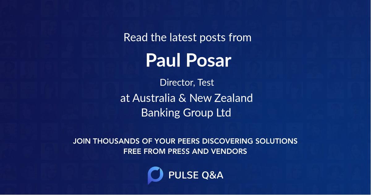 Paul Posar