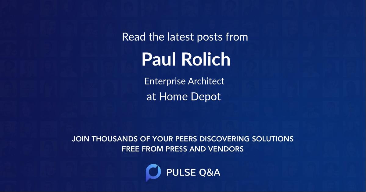 Paul Rolich