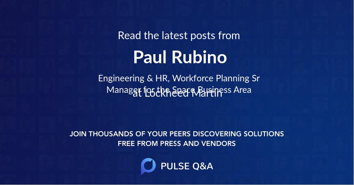 Paul Rubino