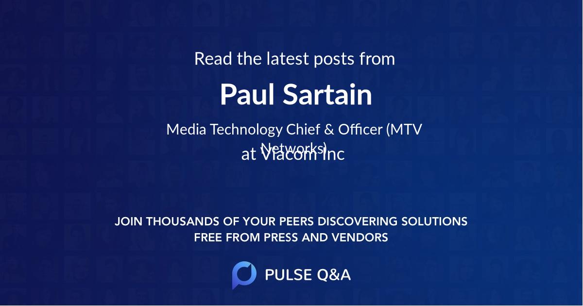 Paul Sartain