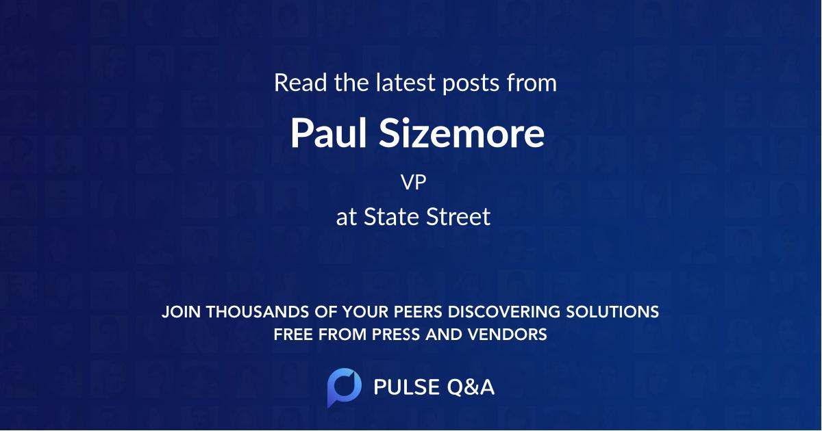 Paul Sizemore