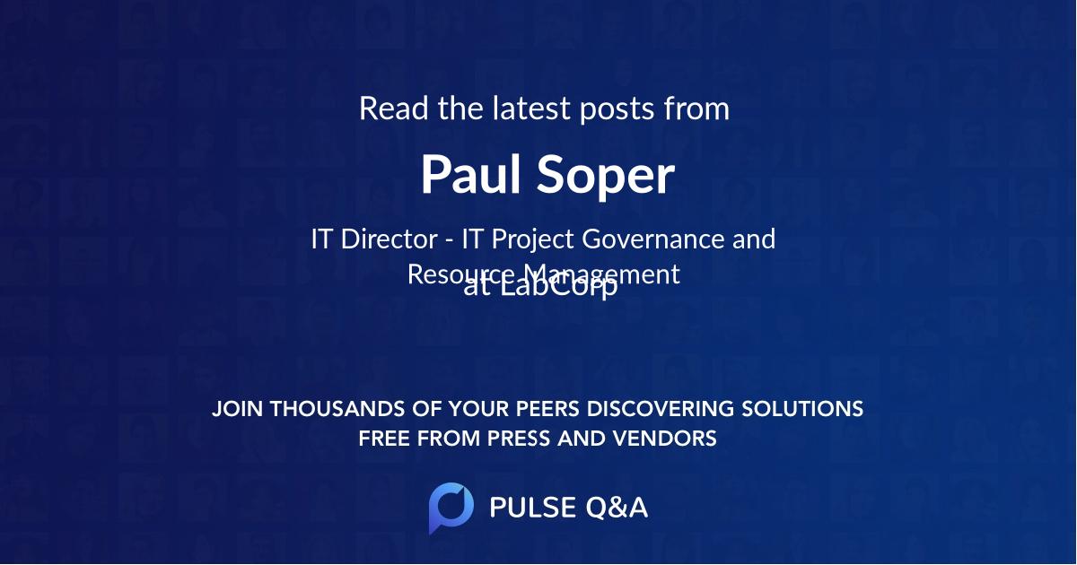Paul Soper