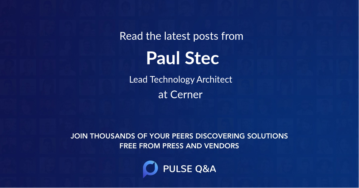 Paul Stec