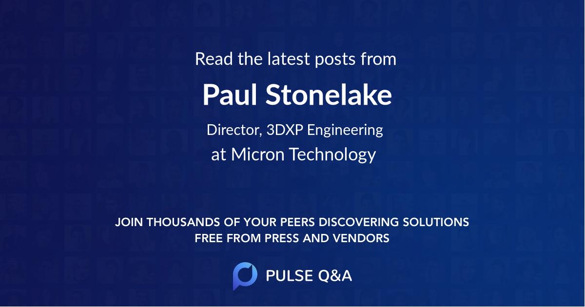 Paul Stonelake