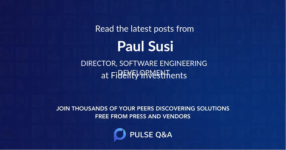 Paul Susi