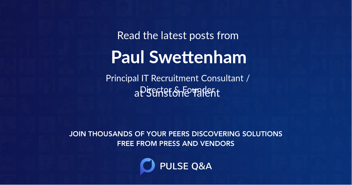 Paul Swettenham
