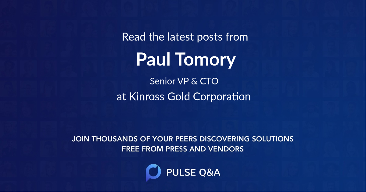 Paul Tomory