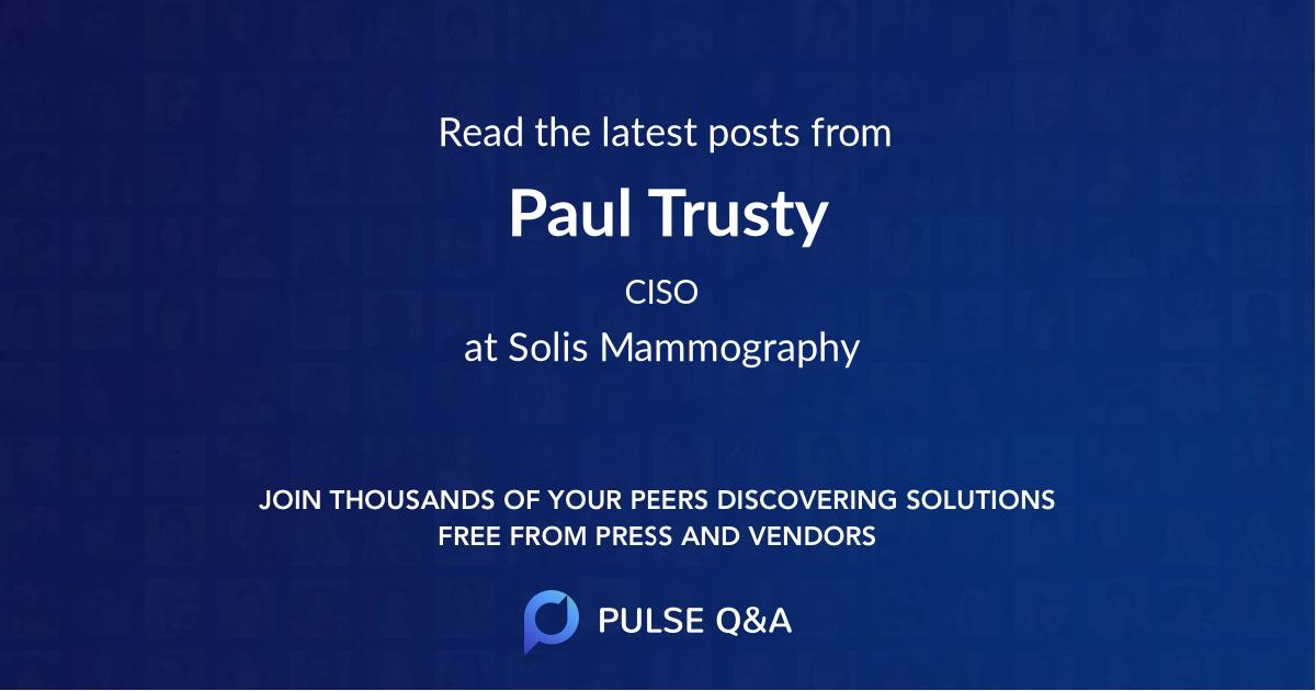 Paul Trusty