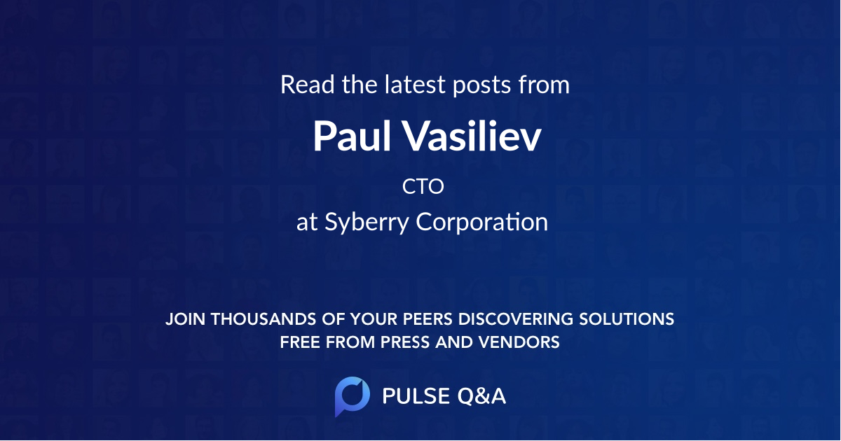 Paul Vasiliev