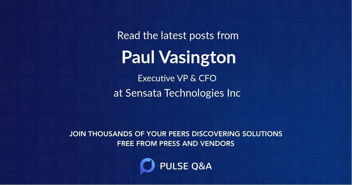 Paul Vasington