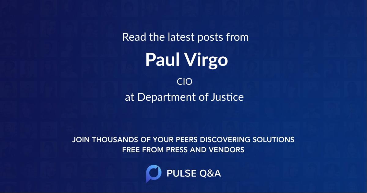 Paul Virgo