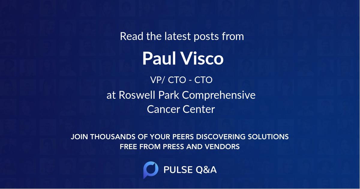 Paul Visco