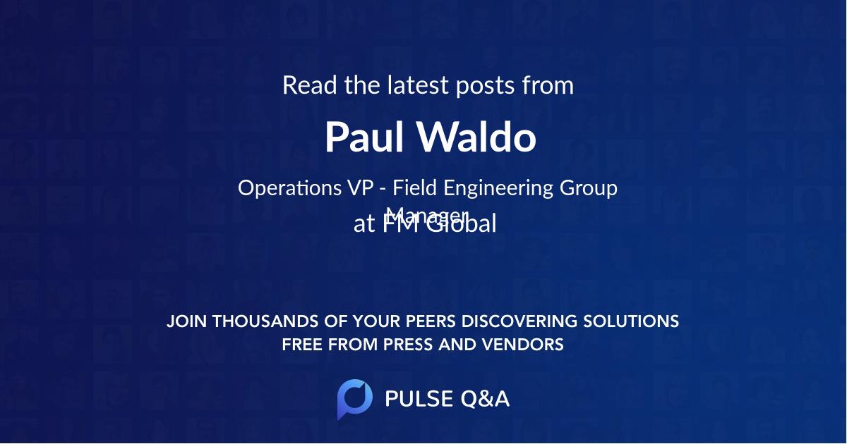 Paul Waldo