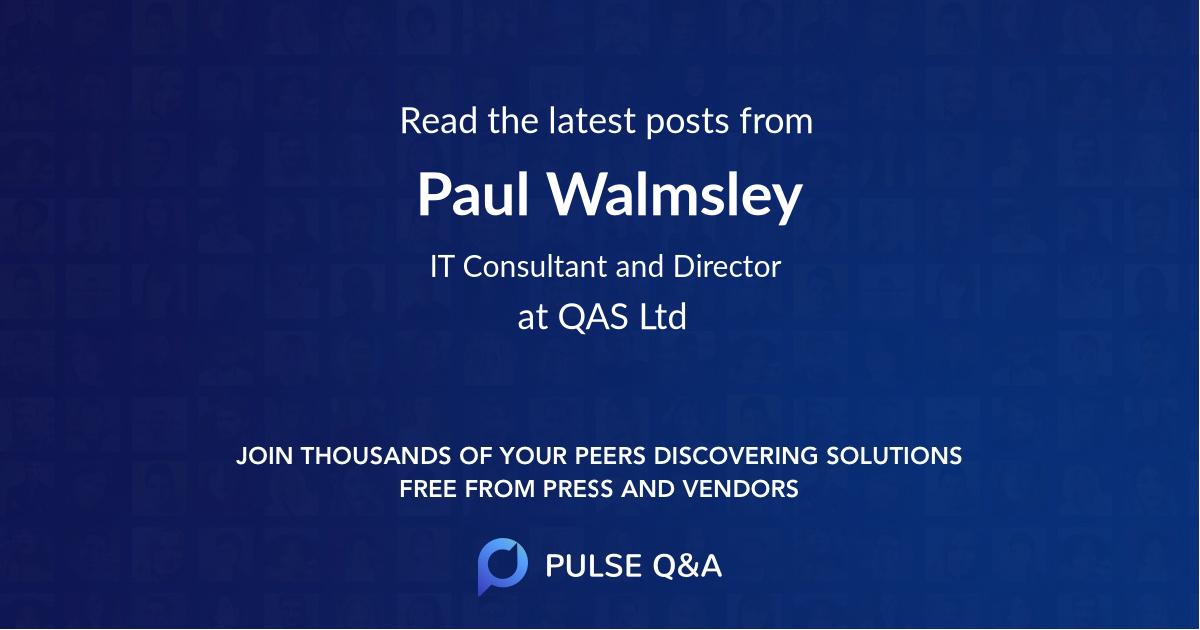 Paul Walmsley