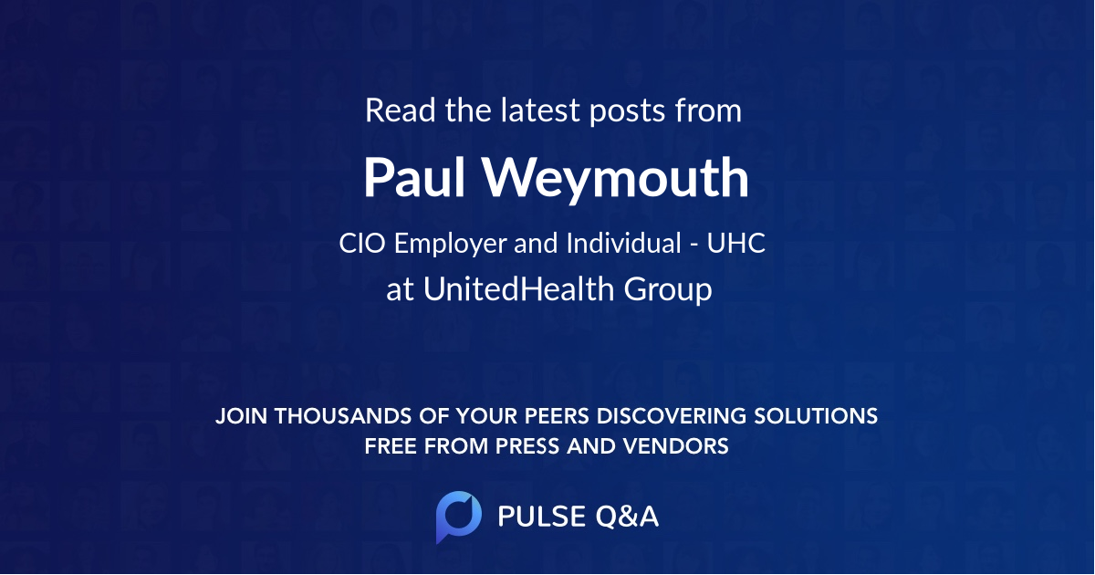 Paul Weymouth